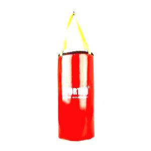 Detské boxovacie vrece SportKO MP9 24x50 cm červená