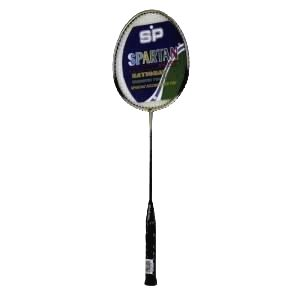 Badmintonová raketa Spartan Calypso čierno-biela