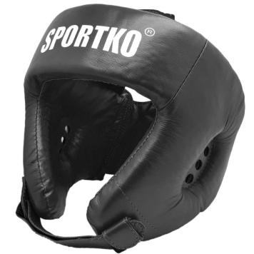 Boxerský chránič hlavy SportKO OK1 čierna - XL