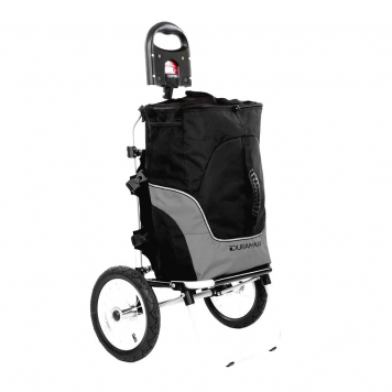 Príves na bicykel Duramaxx Carry Grey