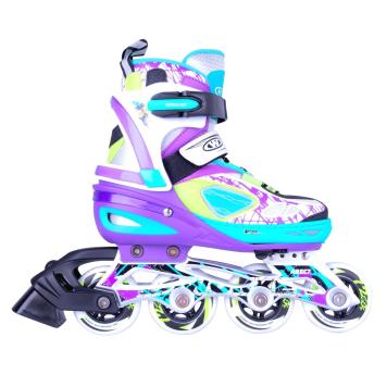 Nastaviteľné kolieskové korčule WORKER Fizzo L (39-42)