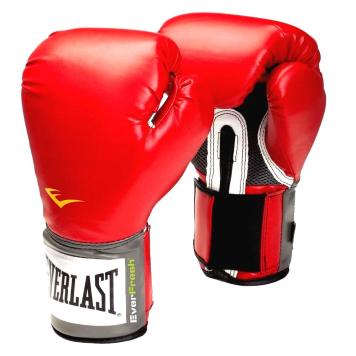 Boxerské rukavice Everlast Pro Style 2100 Training Gloves červená - L (14oz)