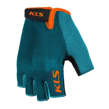 Cyklo rukavice Kellys Factor 021 tyrkysová - XXL