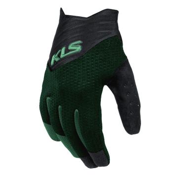Cyklo rukavice Kellys Cutout Long zelená - XXL