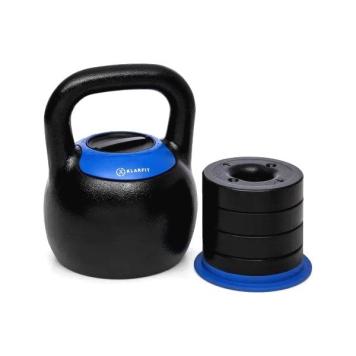 Nastaviteľný kettlebell KLARFIT Adjustabell 16/18/20/22/24 kg