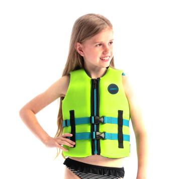 Detská plávacia vesta Jobe Youth Vest 2021 Lime Green - 128