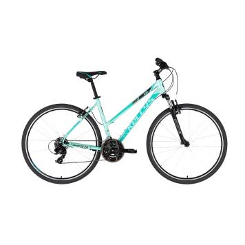 "Dámsky crossový bicykel KELLYS CLEA 10 28"" - model 2021 Mint - M (19'') - Záruka 10 rokov"