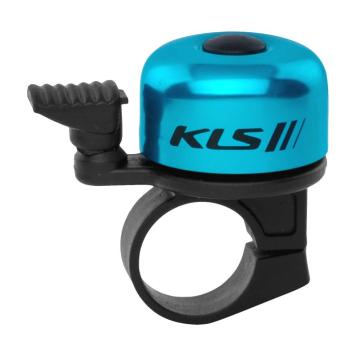 Zvonček na bicykel Kellys Bang 10 modrá