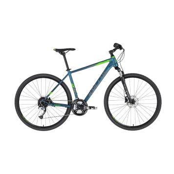 """Pánsky crossový bicykel KELLYS PHANATIC 10 28"""" - model 2021 Dark Ocean - L (21'') - Záruka 10 rokov"""