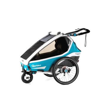 Multifunkčný detský vozík Qeridoo KidGoo 2 Sport Petrol Blue