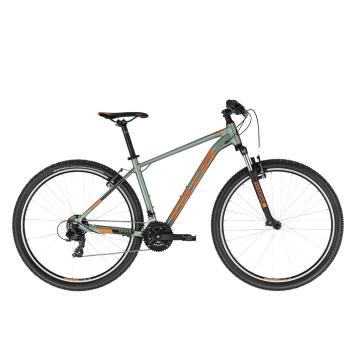 """Horský bicykel KELLYS SPIDER 10 29"""" - model 2021 Green - L (21'') - Záruka 10 rokov"""
