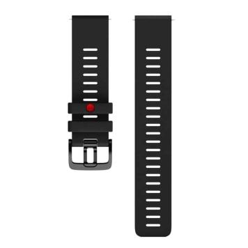 Náhradný remienok Polar Grit X 22 mm čierna - M/L