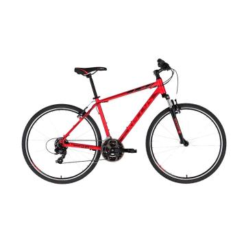 """Pánsky crossový bicykel KELLYS CLIFF 10 28"""" - model 2021 Red - L (21'') - Záruka 10 rokov"""