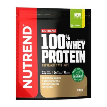 Práškový koncentrát Nutrend 100% WHEY Protein 1000g karamelové latté