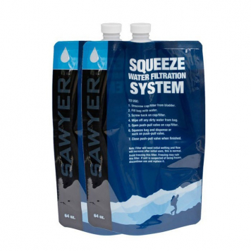 Skladacia fľaša Sawyer SP114 2 l - sada 2 ks